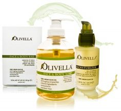 olive oil for healthy skin.