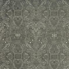 Crypton Home-Donatella-Coal Fabric Performance Fabrics , suitable for Furniture Upholstery, Cushions