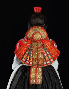 Traditional clothes from Schwalm (Germany)