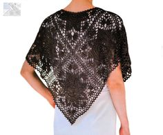Beautiful crochet shoulder wrap PATTERN