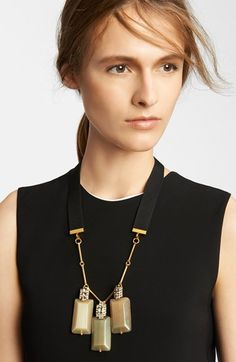 Marni Triple Pendant Necklace available at #Nordstrom