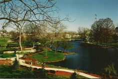 Yoctangee Park, Chillicothe, Ohio. Our beautiful park, a place I spent many days as a child and a place I love to take my own children now!
