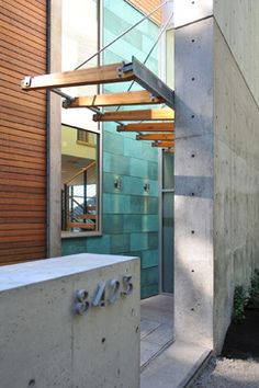 Dorsery Residence entry - modern - entry - seattle - Coates Design Architects Seattle