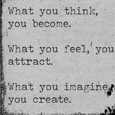 Can you Imagine yourself Thinking your way into Feeling accepting and…