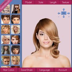 Find your new look with the Hair Finder app!
