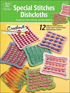 Crochenit Easy Special Stitches Dishcloths