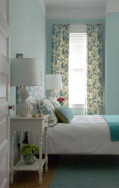 Soft Aqua Bedroom