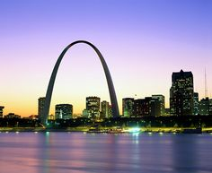 The Arch - St. Louis, Missouri. Quite amazing that they have an elevator that takes you to the top.