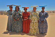 Herero women, Namibia.