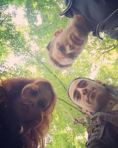 ICYMI: Kat (Clary), Jade (Meliorn) and Dominic (Jace) on the #Shadowhunters set today. #seelie