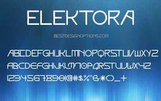 20 Best Futuristic Fonts for Modern Designs