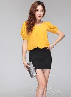 Best Quality OL Column Dress Women's Clothing