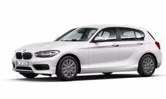 Alpesi fehér BMW 118i (5 ajtós)