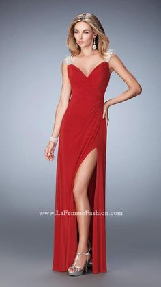 da7f911d75e Shop La Femme evening gowns and prom dresses at Simply Dresses. Designer prom  gowns