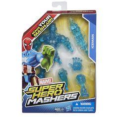 Amazon.com: Marvel Super Hero Mashers Iceman Figure, 6-Inch: Toys & Games