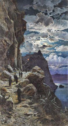 Hermann Corrodi Academic Orientalist painter
