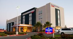 Springhill Suites Marriot in Midland, TX - Quaker Commercial Project - Keystone Series windows