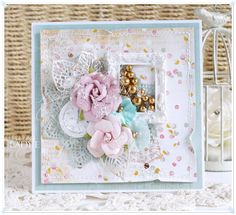Shabby Chic Card Tutorial Prima Marketing Heaven Sent Collection