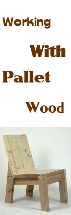 Here's Some Tips On WorkingWith Pallet Wood : http://vid.staged.com/C9AsWatch The Video.
