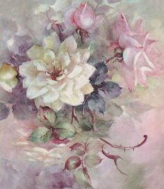 Цветочная нежность от Sonie Ames (декупажное). Обсуждение на LiveInternet - Российский Сервис Онлайн-Дневников