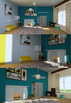 Some IKEA inspired furniture ideas - Minecraft Minecraft Bauwerke, Minecraft Villa, Architecture Minecraft, Construction Minecraft, Modern Minecraft Houses, Minecraft Interior Design, Amazing Minecraft, Minecraft House Designs, Minecraft Blueprints