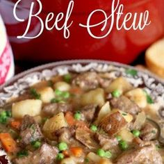 Best Ever Beef Stew really is the best ever! It's thick and stuffed full of beef and veggies. It is so good that you would never guess it is so easy to make