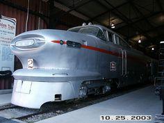 Aerotrain Diesel Locomotive by artistmac, via Flickr