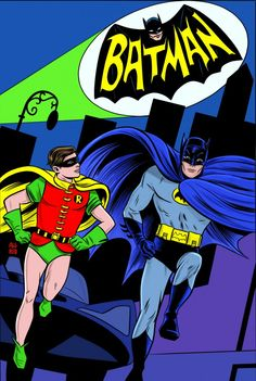 Batman '66 by Mike Allred