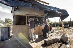 Image result for Calais jungle