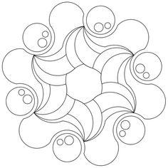 Mandala-Ausmalbild Nr. 77