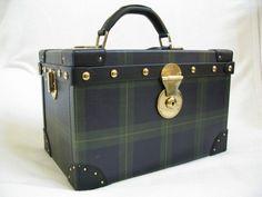 Ralph Lauren Black watch cosmetic case.