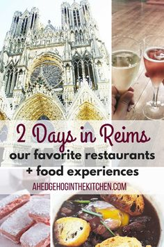 2 days in Reims : our favorite eats, food tours, museums, monuments and experiences to discover in the lovely, regal city of Reims! Best Champagne, Champagne Taste, Paris Travel, France Travel, Champagne Region France, Christmas In Paris, Christmas Markets, Christmas 2019, Visit France