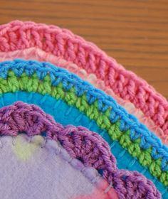Quick and easy blanket edging patterns ... and free too!