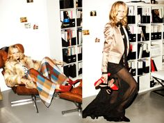 10 crosby by derek lam, love the colorblock palazzo pants