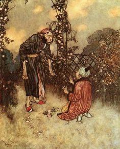 larista :: Французский иллюстратор сказок Edmund Dulac. Illustration by Edmund Dulac.