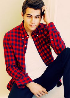 Dylan O'Brien: I don't watch Teen Wolf, but this boy is fine.