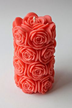 17.6 oz 100% Beeswax candle Mother's day decor by RomanticCandle