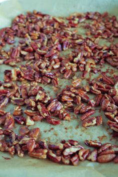 Maple, Bourbon and Bacon Spiced Walnuts   Recipe   Bourbon, Bacon and ...
