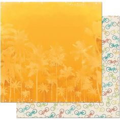 Bo Bunny Key Lime Double Sided Cardstock Heat Wave, , hi-res