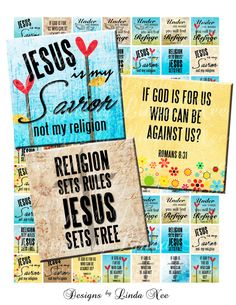 Instant Download  CHRISTian JESUS Reigns 1 x by DesignsbyLindaNee, $3.95