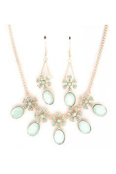 mint necklace!