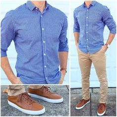 Here's a cool outfit idea for casual Friday tomorrow. It's clean enough to wear to the office ‍ ...