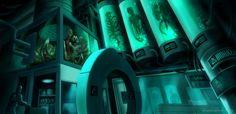 Creepy Sci-Fi Lab by AkiraxCMXC