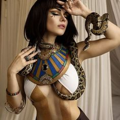 "128 Likes, 1 Comments - @cosplay0_o on Instagram: ""@irine_meier . . . . #egypt #egyptstyle #ancient #egyptian #Egyptianstyle #cleopatra #cosplay…"""