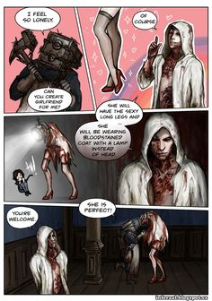Evil Within Valentine's Day by InferaAl.deviantart.com on @DeviantArt