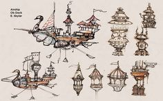 飛行船 design drawing - Google Search