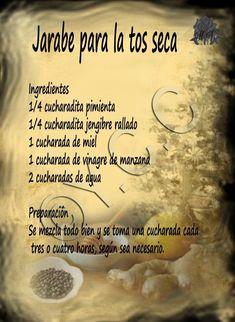 Jarabe para la tos seca #remediosnaturales #remedioscaseros