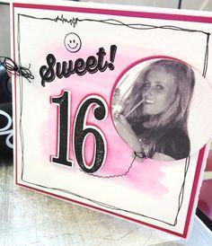 Happy Birthday card made by Jo-An Creations inspired by Jolanda Leenders