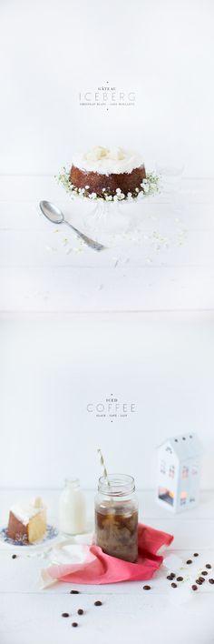 Gateau` Iceberg..., Chocolate Blank - Cake Moelleux