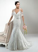 Anna - by Maggie Sottero April this gown would be gorgeous on you! I have watched every say yes to the dress and trust me the people that come in with only one style in mind were always shown the perfect dress for their personality and Beauty! You are Beautiful, you deserve to shine!